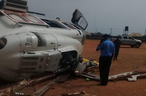 Vice President Helicopter crash: Relevant investigative authorities have been informed- Caverton